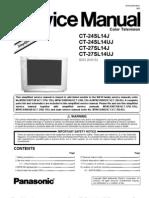 Manual Panasonic CT-27SL14