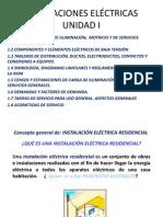 INSTALACIONES ELÉCTRICAS UNIDAD I
