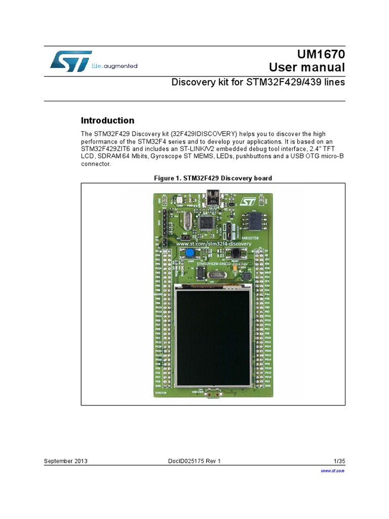STM32F429 User Manual | Intellectual Property | Flash Memory