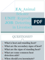 6 detecting heat in livestock