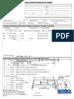 Merrick Belt Scale Data Sheet