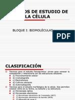 Tema1 MÉTODOS DE ESTUDIO DE LA CÉLULA