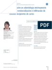 Odontologia Minimamente Invasiva 3 Er Articulo