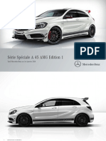 Tarif Client Classe a 45 AMG Edition 1-01-01 2014