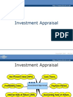 investment appraisal 2