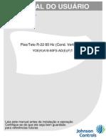 Manual de Usuario Split York Piso Teto Prime