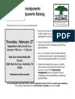 Grandparent Cargiver Event 2.27.14