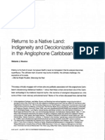 Indigeneity and Decolonization in the Caribe