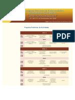 Programa Preliminar de Actividades