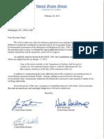 2014-02-20 Ltr to Sec Hagel - ICBM EA Opposition