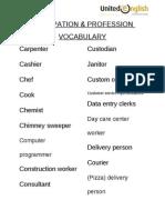 Occupation & Profession Vocabulary 21-40