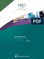 Brochure ENT 2014