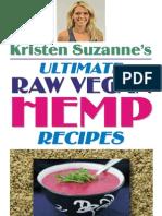 Ultimate Raw Vegan Hemp Recipes