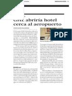 Grupo GHL Hoteles abrirá un hotel cerca al aeropuerto Jorge Chávez en Lima