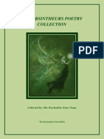 The Absintheurs Poetry Collection by the Psychedelic Fairy Team 2012