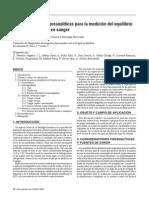 Urgencia-H-Recomendaciones preanalíticas para la medición del equilibrio ácido-base y gases en sangre (2009)