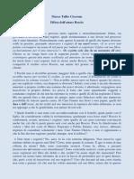 Marco Tullio Cicerone - Difesa Dell'Attore Roscio