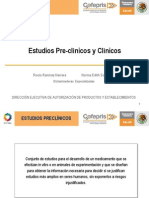 11 Estudios Pre y Clinicos