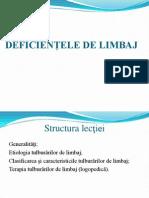 _Deficientele de Limbaj 01-12-2013