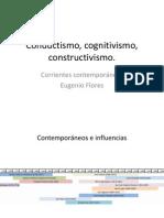 Conductismo, cognitivismo, constructivismo