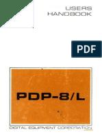 Digital PDP8-L Users Handbook 1968