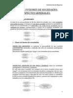 Tema 2 - Fusiones de Sociedades. Aspectos Generales