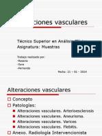 Alteraciones vasculares 1