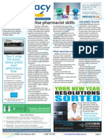 Pharmacy Daily for Fri 21 Feb 2014 - Utilise pharmacist skills