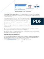 Panama Canal Authority statement | Feb. 19, 2014 (English)
