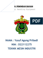 Mesin Pemindah Bahan (Material Handling Equipment)