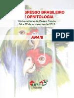 Xx Congresso Ornitologia