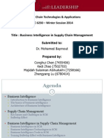 Business Intelligence in Supply Chain Management - EBC 6230