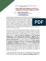 La Reforma Político-Electoral de 2013-14 y las elecciones legislativas federales de México en 2015