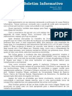 Boletim Informativo N37 Ano3