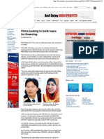 Star Business - Firms Looking to Bank Loans for Financing - July 8, 2009