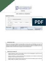 Programa Del Curso Corrientes Del Pensamiento Autorizado Por Vicerrec. Acad. 9-01-13