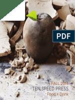 Ten Speed Press Food + Drink Catalog - Fall 2014