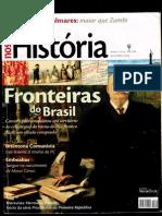 Revista Nossa História - Fronteiras do Brasil -