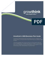 Growthink Business Plan Template Download Free PDF Business - Growthink s ultimate business plan template