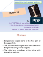 Humerus by.dr Chaman Lal