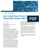 Epc Contracts Process Plant Sector