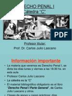 DERECHO PENAL I C, Lección 1