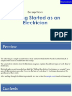 Getting Started Being an Electrican
