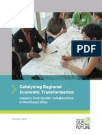 Catalyzing Regional Economic Transformation Lessons From Funder Collaboration in Northeast Ohio