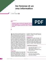 Analisi Forense Di Un Sistema Informatico