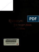 Romanism, The Danger Ahead [1887] - By Alonzo J. Grover