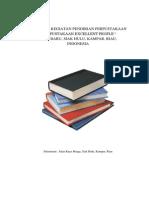 Proposal Pendirian Perpustakaan