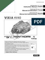 hv40 manual