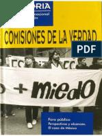 Cdhdf Comisiones de La Verdad. 2a. Ed. 2004