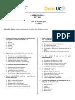 Guía de Estudio Antropología Examen versión 2.0